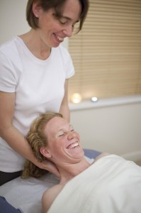 The best way to learn to massage is to have some fun while you do it!