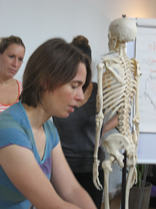 Teaching at Bristol College of Masage and bodywork