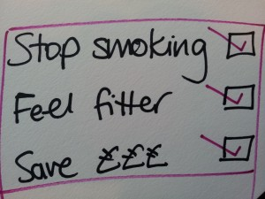 A few good reasons to stop smoking