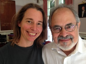 Sarah and David Lauterstein
